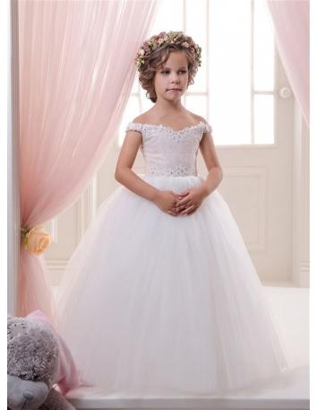 d01f4030f8732 Robes de cérémonie pour petite fille ou bouquetière économiques sur ...