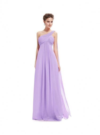 e2464d7ed82b Vestito Economico per damigelle color lilla lavanda