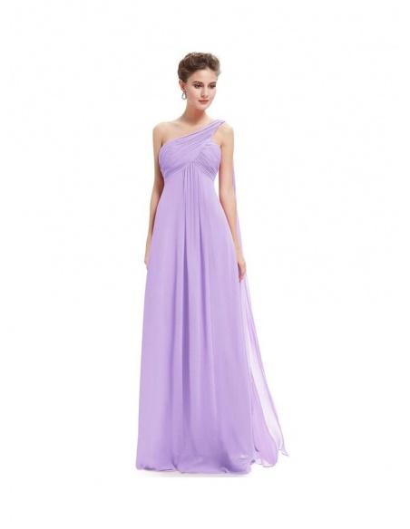 Vestito Economico per damigelle color lilla lavanda