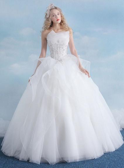 Vestiti Da Sposa Fantastici.Fantastico Abito Da Sposa Particolare Ed Esclusivo Con Gonna
