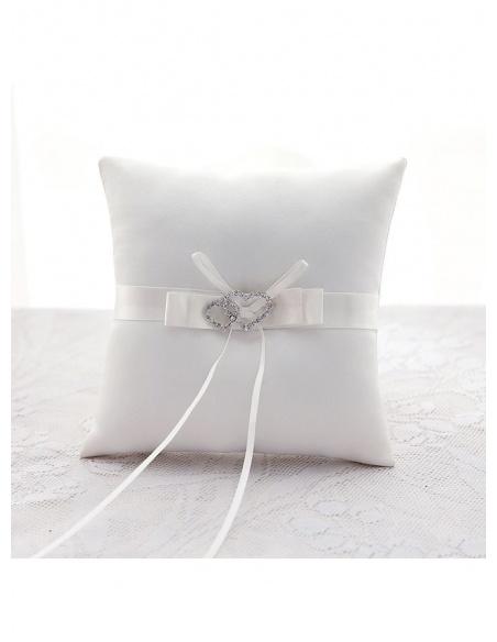 Cuscino Portafedi Basic semplice in raso