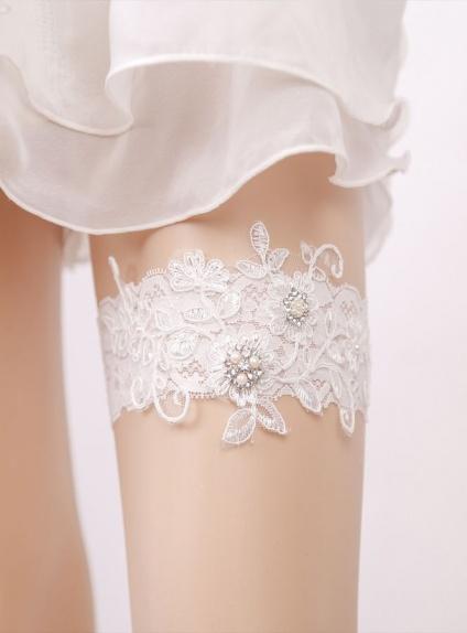 Giarrettiere per Sposa online ricamate