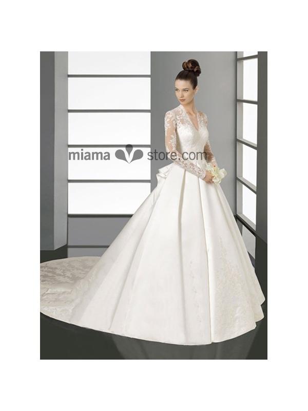Sara buys wedding dress