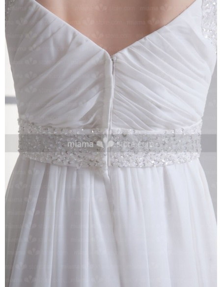 IRYNA - Empire waist Sweetheart Cheap Floor length Weeding dress
