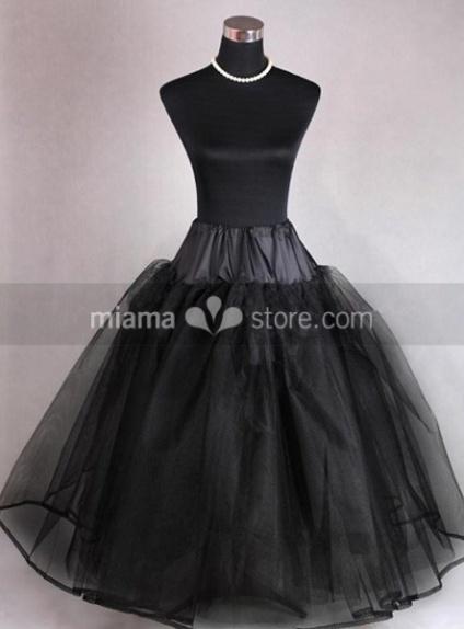 Tulle Taffeta A-Line slip Ball gown slip Full gown slip 3 Tiers Wedding petticoat
