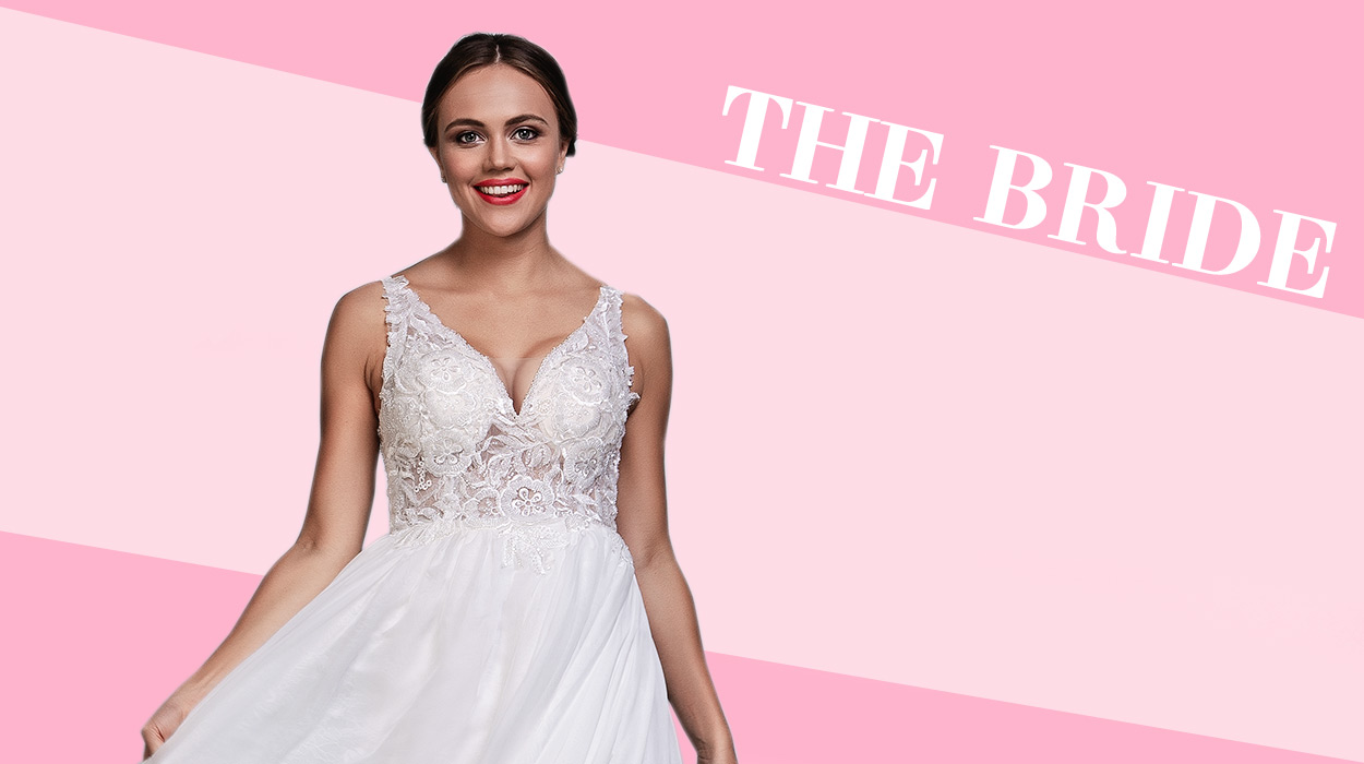 valentines day bridal dresses