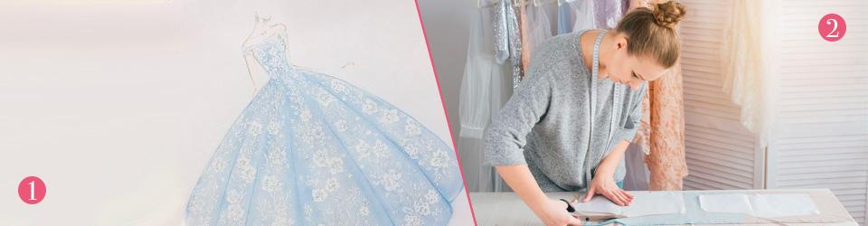abiti da sposa personalizzati