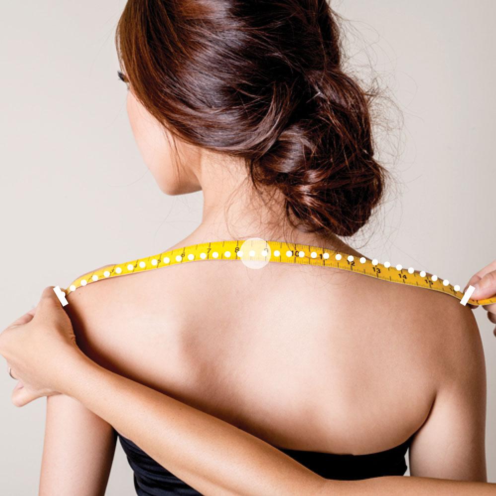 largeur des épaules